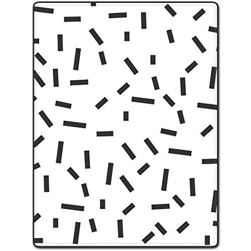 Shower Curtain 72 X 80 Inch Black Rectangular Pattern Art Printing Polyester Fabric