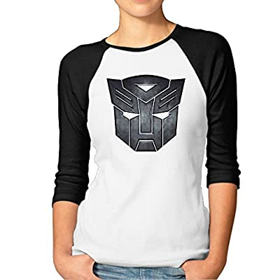 The Transformers Logo Design 3/4 Sleeve Shirts Vintage Printing