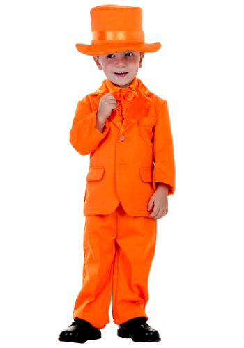 Little Boys' Orange Tuxedo - -