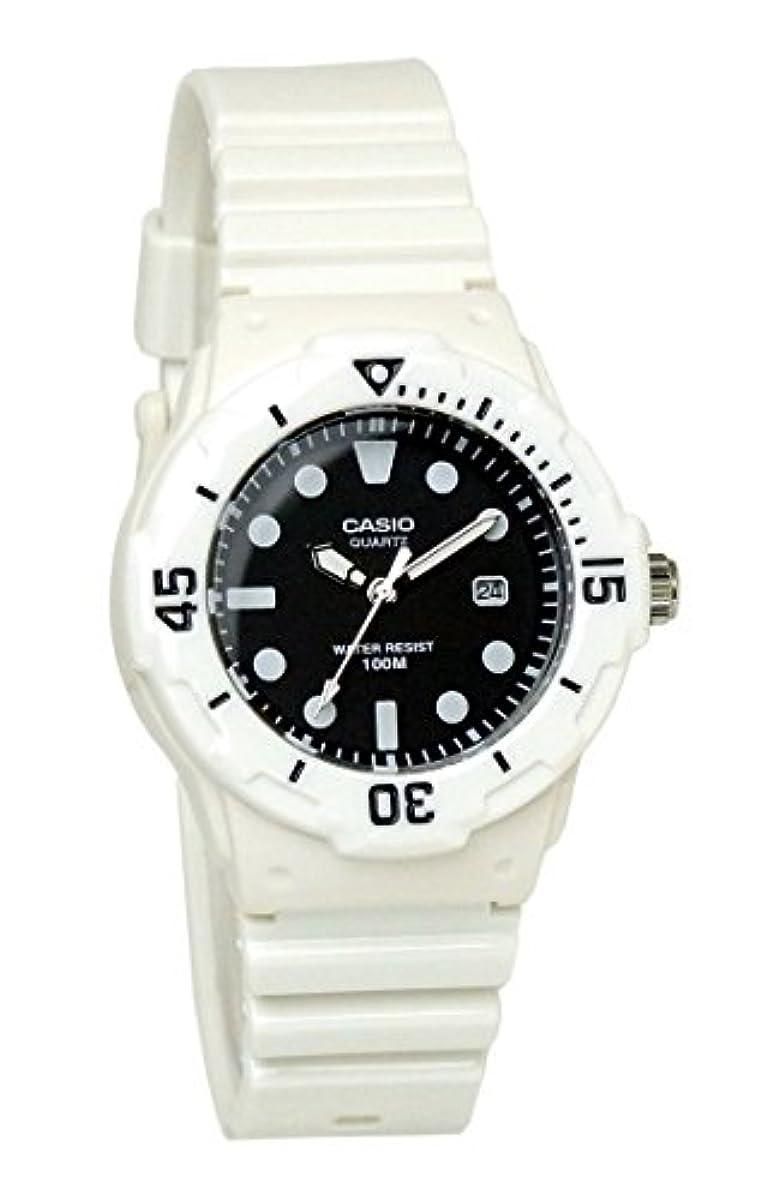 [해외] [카시오]CASIO 지푸카시 손목시계 아날로그 CASIO 카시오 칩 카시오 레이디스 LRW-200H-1E 화이트 블랙