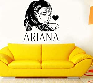 3d poster R&B Singer Star Ariana Grande DIY Wall Art Sticker Bebé ...