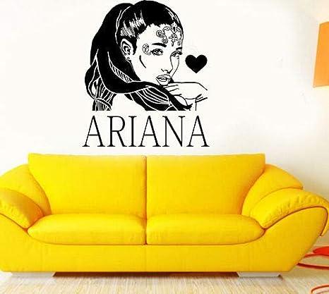 3d poster R&B Singer Star Ariana Grande DIY Wall Art Sticker Bebé ...