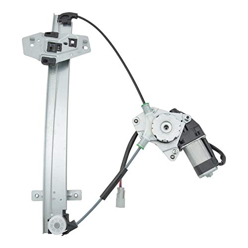 Rear Power Window Regulator w/Motor Driver Side Left LH for 01-06 Acura ()