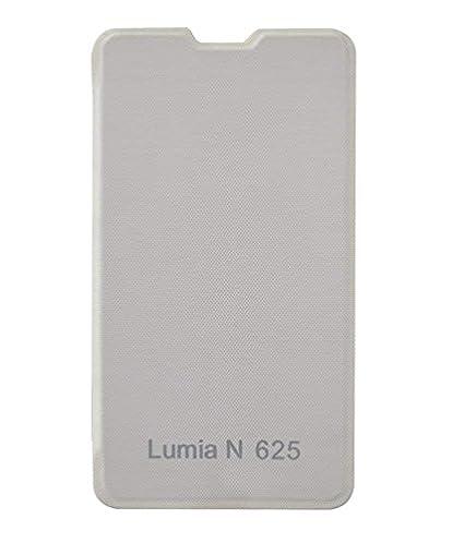 low cost 84ef7 0fac4 COVERNEW Flip Cover for Nokia Lumia 625 Flip Cover - White  1FlippMicrosoftLumia625White