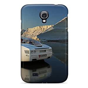 Tpu Case Cover Compatible For Galaxy S4/ Hot Case/ Car In Nice Scenery
