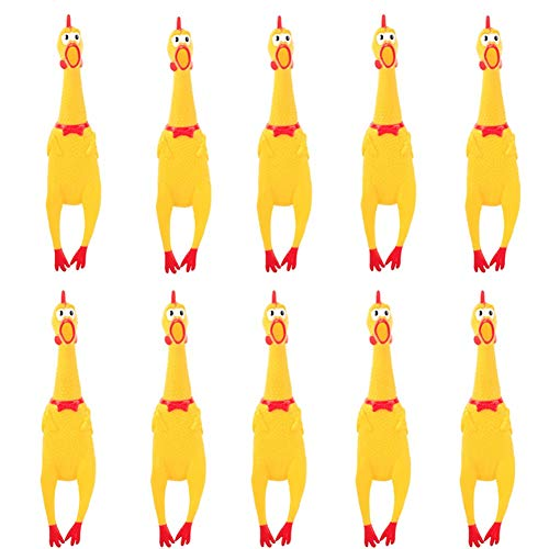 (HUAYUARTS 10 PCS Screaming Chicken Toy,7