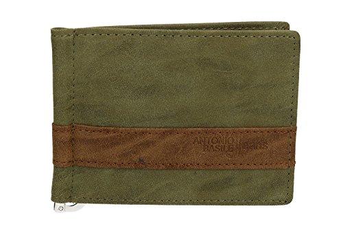 ANTONIO man Mini holder BASILE wallet man wallet banknotes underwire browns ANTONIO Mini SaYFZxnq