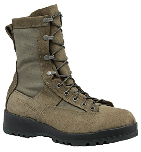 Belleville 690ST Men's Waterproof Steel Toe Usaf Flight Boot, Sage Green - 11R