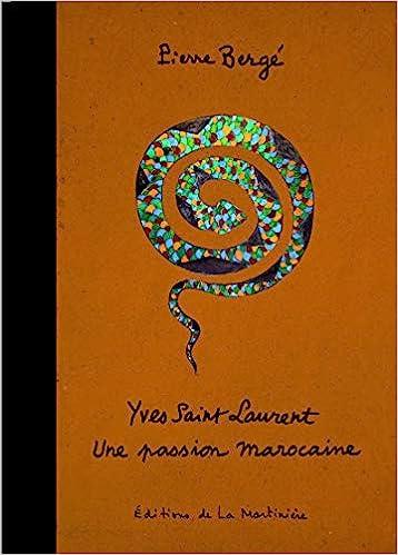 2c00be6585e Yves Saint Laurent : Une passion marocaine: Pierre Bergé: 9782732445021:  Amazon.com: Books