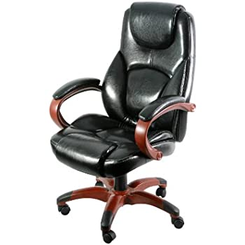 Amazon Com Z Line Designs Executive Chair Wood Toned
