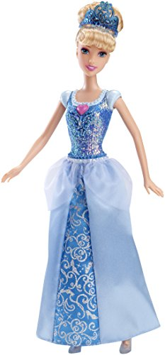Mattel Disney Sparkle Princess Cinderella Doll