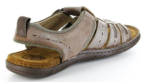 Josef Seibel Sale Paul 06 - Herren Sandalen - Braun Schuhe in Übergrößen