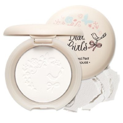 Etude House Dear Girls Oil Control Pact (Oil Absorbing Powder)