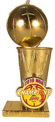 Los Angeles Lakers 2010 NBA Championship Trophy Ornament