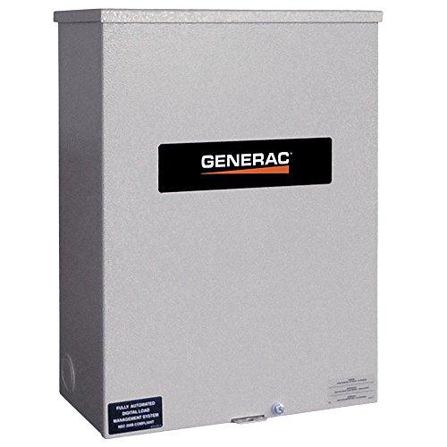 Switches Transfer Generac (Generac RTSW200G3 RTS 120/208V 200 Amp Three Phase Service Rated Transfer Switch)