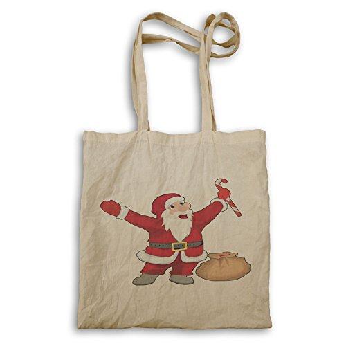 Tragetasche Weihnachtsmann Weihnachtsmann Glücklich Weihnachtsmann Tragetasche Winter p447r Winter Glücklich p447r Afwpw1