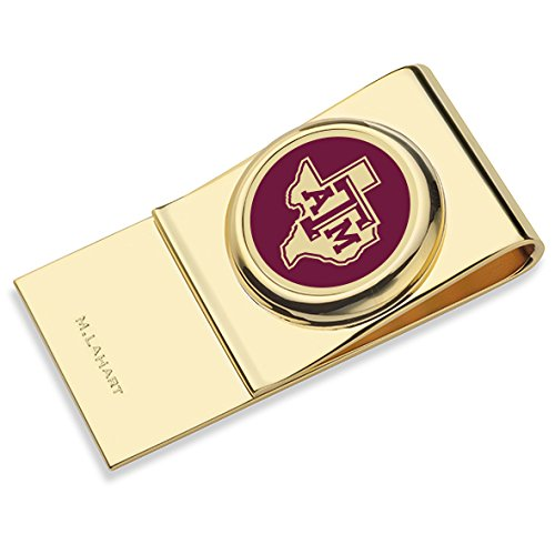 Texas A&M University Enamel Money Clip by M. LaHart