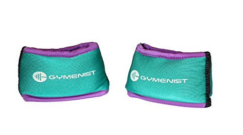 GYMENIST Wrist Weights Running Stylish Bracelet weights (1.5 LB)