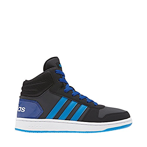 carbon Negbas Unisexes K Baskets 0 Adultes Grises Adidas 2 Hoops Mid Azubri 000 xqzPSUwfO