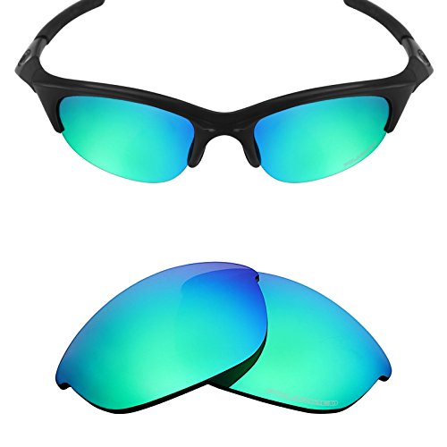 Mryok+ Polarized Replacement Lenses for Oakley Half Jacket - Emerald - Lenses Half Jacket