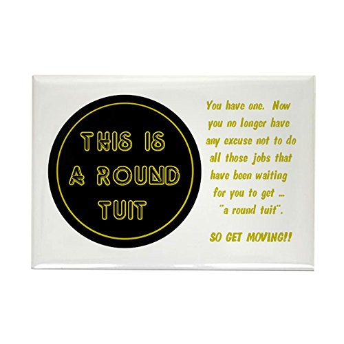 - CafePress Round Tuit - Rectangle Magnet, 2