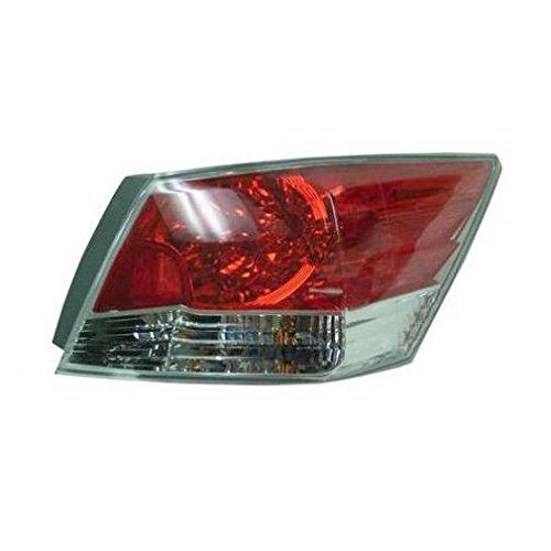 Taillight Taillamp Right Passenger Side Rear for 08-12 Honda Accord 4 Door Sedan