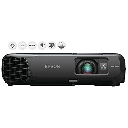 Epson EX5220 Wireless XGA 3LCD Projector, 3000 lumens (V11H551020)- (Certified Refurbished) by Beach Camera
