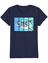 Shark Swimming Goggles Shirt : Funny Swim Team Swimmer Gift