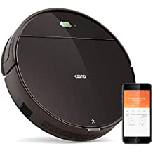 CISNO Robot Vacuum Cleaner with Mopping System, Robotic Vacuum with Wi-Fi Connectivity, Works with Alexa & Google Home, Powerful Suction, Slim & Quiet, Good for Pet Hair, Thin Carpets and Hard Floors
