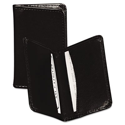 (Regal Leather Business Card Wallet, 25 Card Cap, 2 x 3 1/2 Cards,)