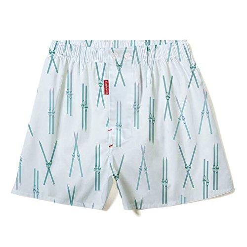 GET AMBER - Premium Herren Boxershorts - Unterhose - Ski Boxer Shorts