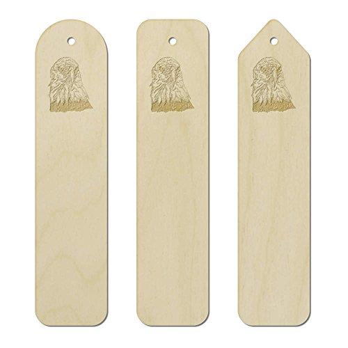 Azeeda 3 x 'Bald Eagle' Birch Bookmarks (BK00008184)