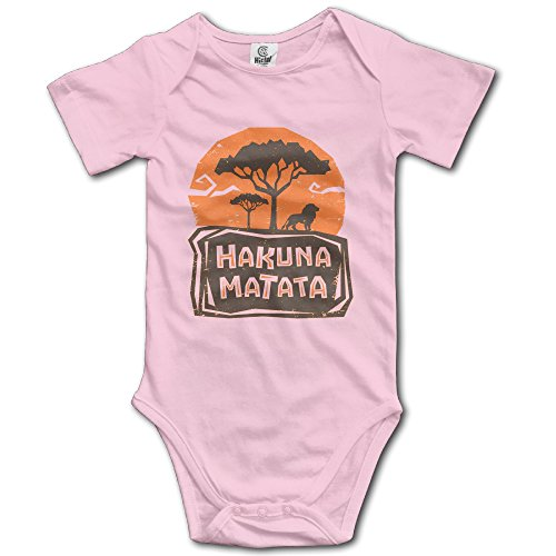 Hakuna Matata Funny Baby Onesie Newborn Clothes Outfits (Sheldon Outfit)