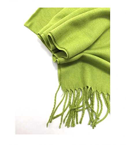 Green_(US Seller)Scarf Unisex New Fashion (Solid) Scotland Made - Versace Shoes India