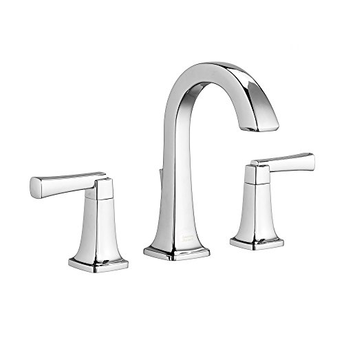 - American Standard 7353801.002 Townsend 8 in. Widespread 2-Handle High-Arc Bathroom Faucet with Speed Connect Drain in Polished Chrome,