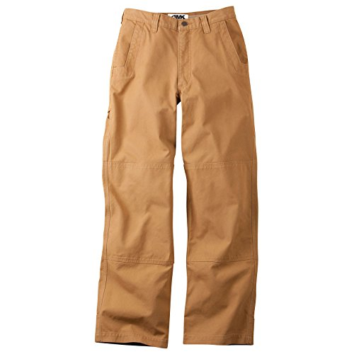 Pants: Alpine Utility Pant Relaxed Fit - Mid Rise 2 Ply Organic Cotton Canvas - Utility Pocket, Ranch, 33W 32L ()