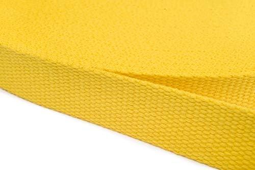 Jajasio Correa de algodón 30 mm de Ancho, Correa de algodón ...