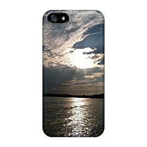Protective Tpu Case With Fashion Design For Iphone 5/5s (glory)