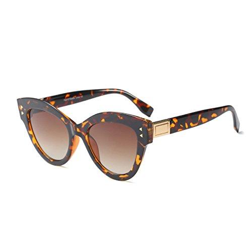 Schwarz C2 Sonnenbrille Frauen Sonnenbrille KLXEB Sobredimensionado Weiß Gradienten Marke Designer Retro Rot C4 Katzenaugen qRww7x8A