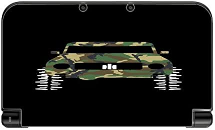 4x4 Camo Camouflage Offroad Off Road Vehicle Black Background New 3DS XL 2015 Vinyl Decal Sticker Skin by Moonlight Printing