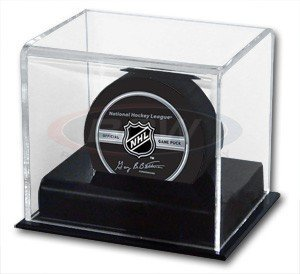 Hockey Puck display case by Bcw