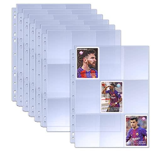 TAOPE 960 Tasche Manicotti per Carte collezionabili Portafogli Album Pagine Maniche Trasparenti per Carte da Gioco Porta Monete Porta Monete Copertina della Scheda dell'album