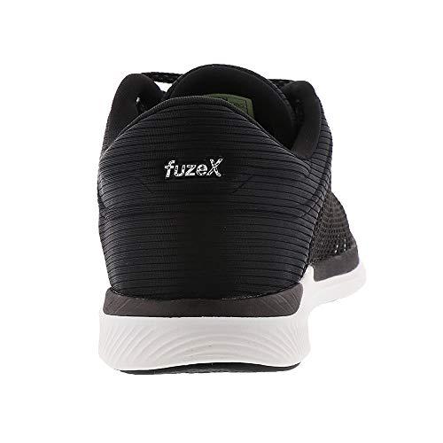 blanco Rush Asicst885n gris Negro Adapt Oscuro Fuzex Mujer waqAqgW6f