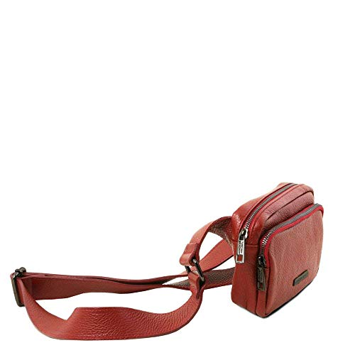 Size Leather Women's One Red Tuscany Tl141700 Clutch 4HZY1q1