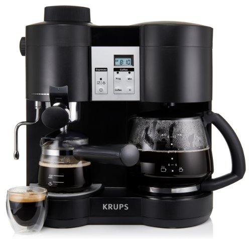 krups xp1600 coffee maker and espresso machine combination black kitchen in the uae see. Black Bedroom Furniture Sets. Home Design Ideas