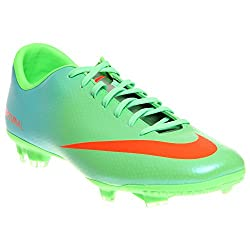 Nike Men's Mercurial Victory Iv Fg N Lmttl Crmsnmtllc Slvrplrz Soccer Cleat 11.5 Men Us