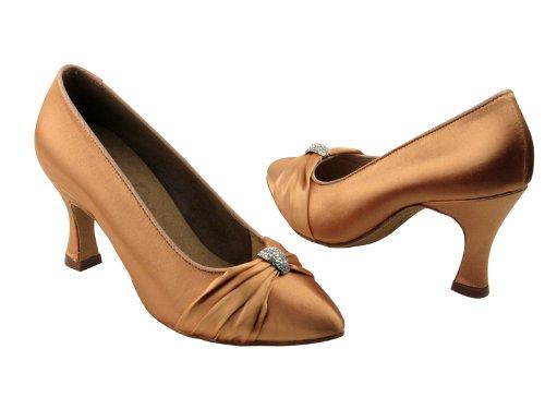 Scarpe Da Ballo Da Donna Per Ballare Latino Salsa Tango Signature S9169 Satin Satinato 2,75 Tacco