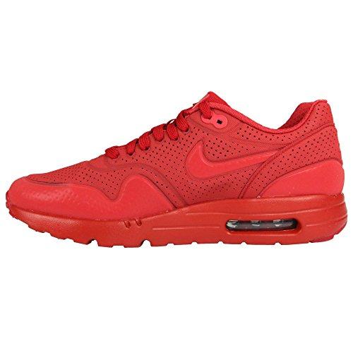 Nike Heren Air Max 1 Ultra Moiré, Zwart / Zwart-wit Varsity Rood Varsity Rood 606