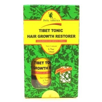 Deity Tibet Tonic Hair Growth Restorer 1.7 Ounce (50ml) (6 Pack)