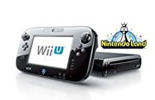 2017 Newest Nintendo Wii U Deluxe set 32GB with Nintendo Land-Black (Certified Refurbished)